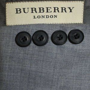 40R Burberry London SLIM FIT Light Gray blazer